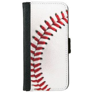 Original baseball ball iPhone 6 wallet case