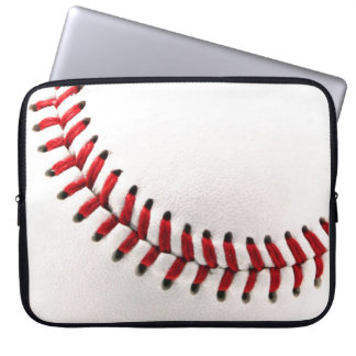 Original baseball ball laptop sleeve
