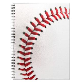 Original baseball ball notebook