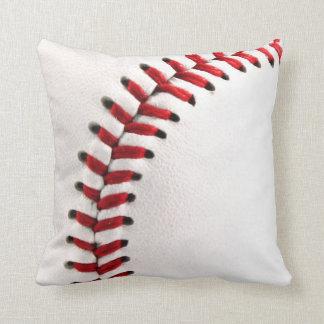 Original baseball ball throw pillows