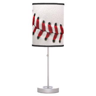 Original baseball ball table lamp