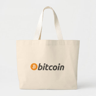 Original Bitcoin Btc Large Tote Bag
