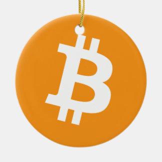Original Bitcoin Logo Symbol Christmas Ornament 2s