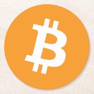 Original Bitcoin Logo Symbol Crypto Drink Coaster