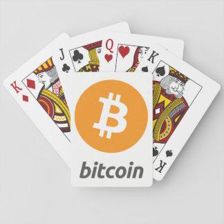 Original Bitcoin Logo Symbol Playing Cards