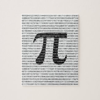 Original black number pi day mathematical symbol jigsaw puzzle