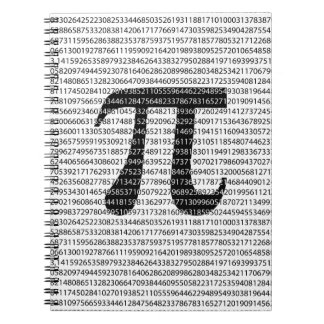 Original black number pi day mathematical symbol notebook