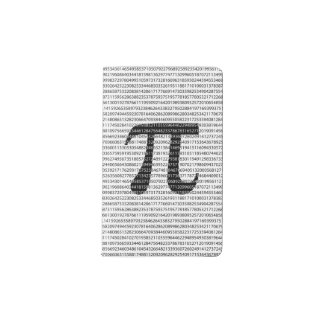 Original black number pi day mathematical symbol pocket moleskine notebook