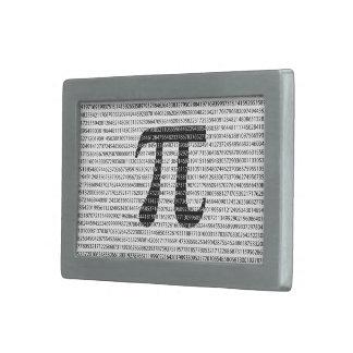 Original black number pi day mathematical symbol rectangular belt buckle