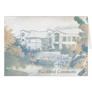 Original Blackbird Commons Note Cards