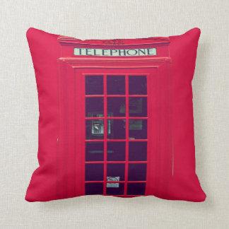 Original british phone box pillows