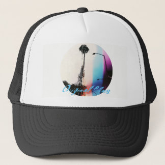 Original Chaos Apocalyptic Needle Snapback Black Trucker Hat