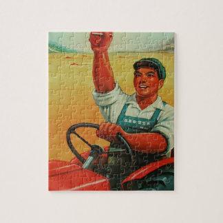 Original Chinese manifesto of propaganda poster Jigsaw Puzzle