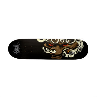 Original Criminalz: Smoke Wolf Custom Skateboard
