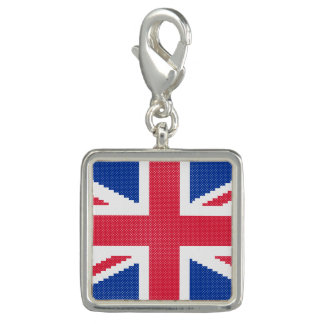 Original cross-stitch design Union Jack Photo Charm