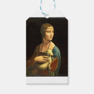Original Da vinci's paint Lady with an Ermine Gift Tags