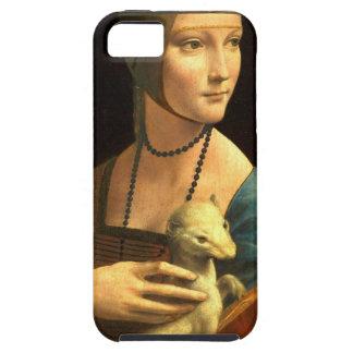 Original Da vinci's paint Lady with an Ermine iPhone 5 Cases