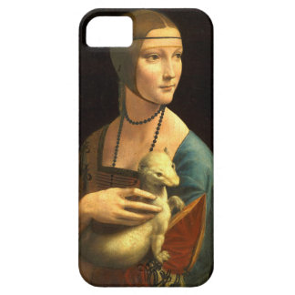 Original Da vinci's paint Lady with an Ermine iPhone 5 Cover