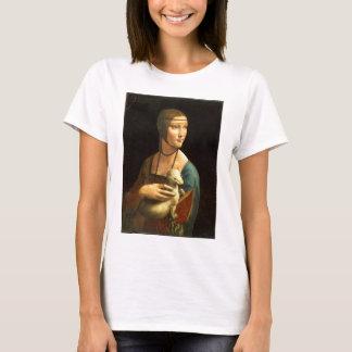 Original Da vinci's paint Lady with an Ermine T-Shirt
