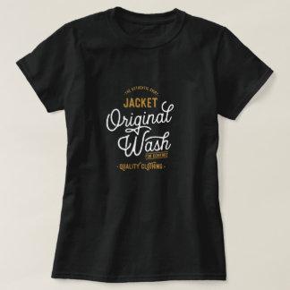 Original Dark Wash Typography T-Shirt