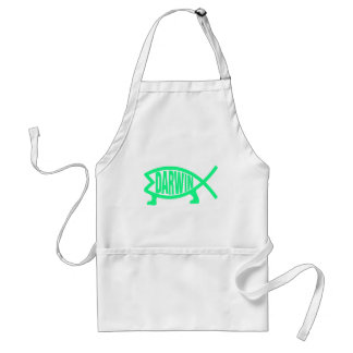 Original Darwin Fish (Seafoam) Standard Apron