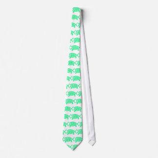 Original Darwin Fish (Seafoam) Tie