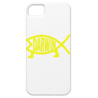 Original Darwin Fish (Yellow) iPhone 5 Cover