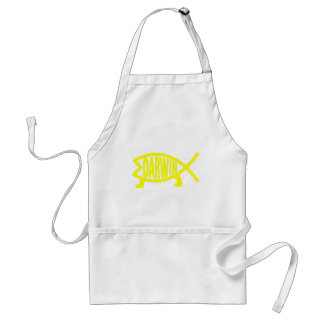 Original Darwin Fish (Yellow) Standard Apron