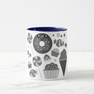 Original designers mug with Manga drawings