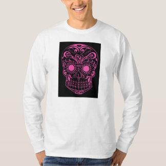 Original dessiné par le crâne de sucre d'artiste t-shirt