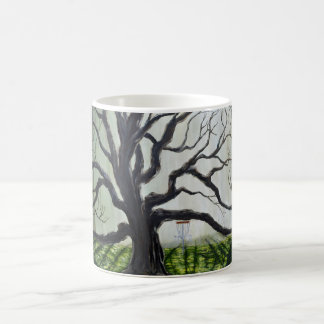 Original disc golf art mug