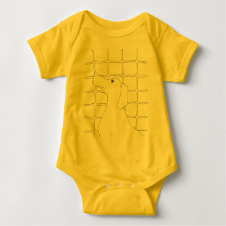 Original Dog Drawing Chinese Dog Year 2018 baby Baby Bodysuit
