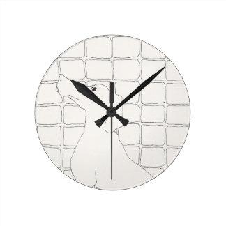 Original Dog Drawing Chinese Dog Year 2018 Clock