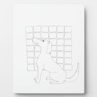 Original Dog Drawing Chinese Dog Year 2018 Plaque