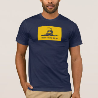 Original Dont Tread on Me T Shirt -gadsden flag us