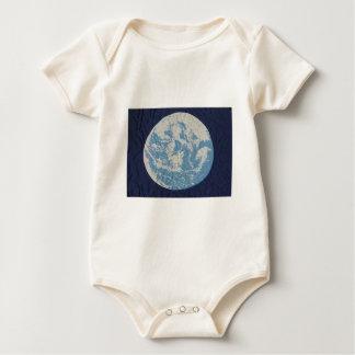 Original Earth Day Flag Baby Bodysuit