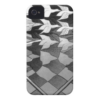 """Original famous draw """"day and night"""" iPhone 4 cover"""