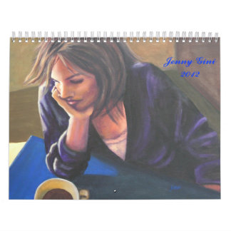 Original Fine Art Calendar Paintings by Jenny Gini