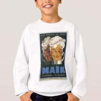 original French beer Art Deco Poster 1929 Sweatshirt