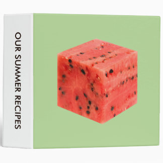 Original Fresh Sweet Red Watermelon Food Cube Binders