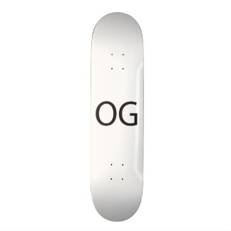 Original Gangsta.ai Skate Deck