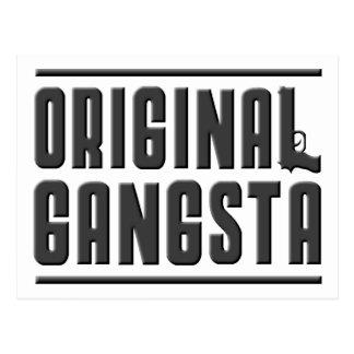 Original Gangsta Postcard