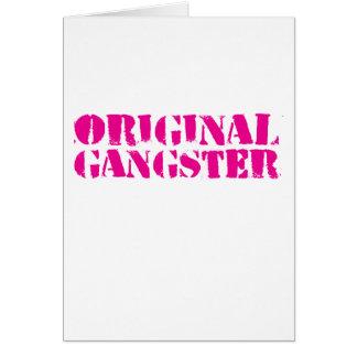 Original Gangster Card