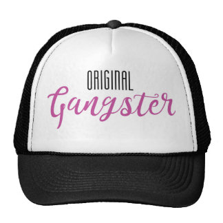 Original Gangster Trucker Hat