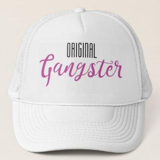 Original Gangster Trucker Hat - White