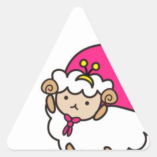 Original goods of me e ru triangle sticker