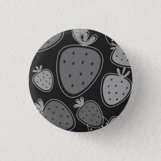 Original hand-drawn silver Badge 1 Inch Round Button