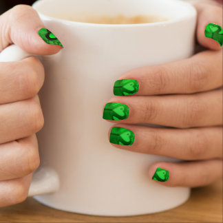 Original Happy St Patrick Minx Nails Minx Nail Art