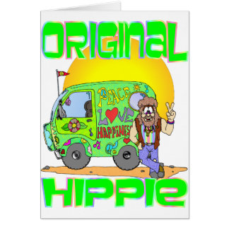 Original Hippie Card