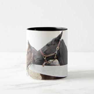 Original Horse Whisperer Two-Tone Coffee Mug